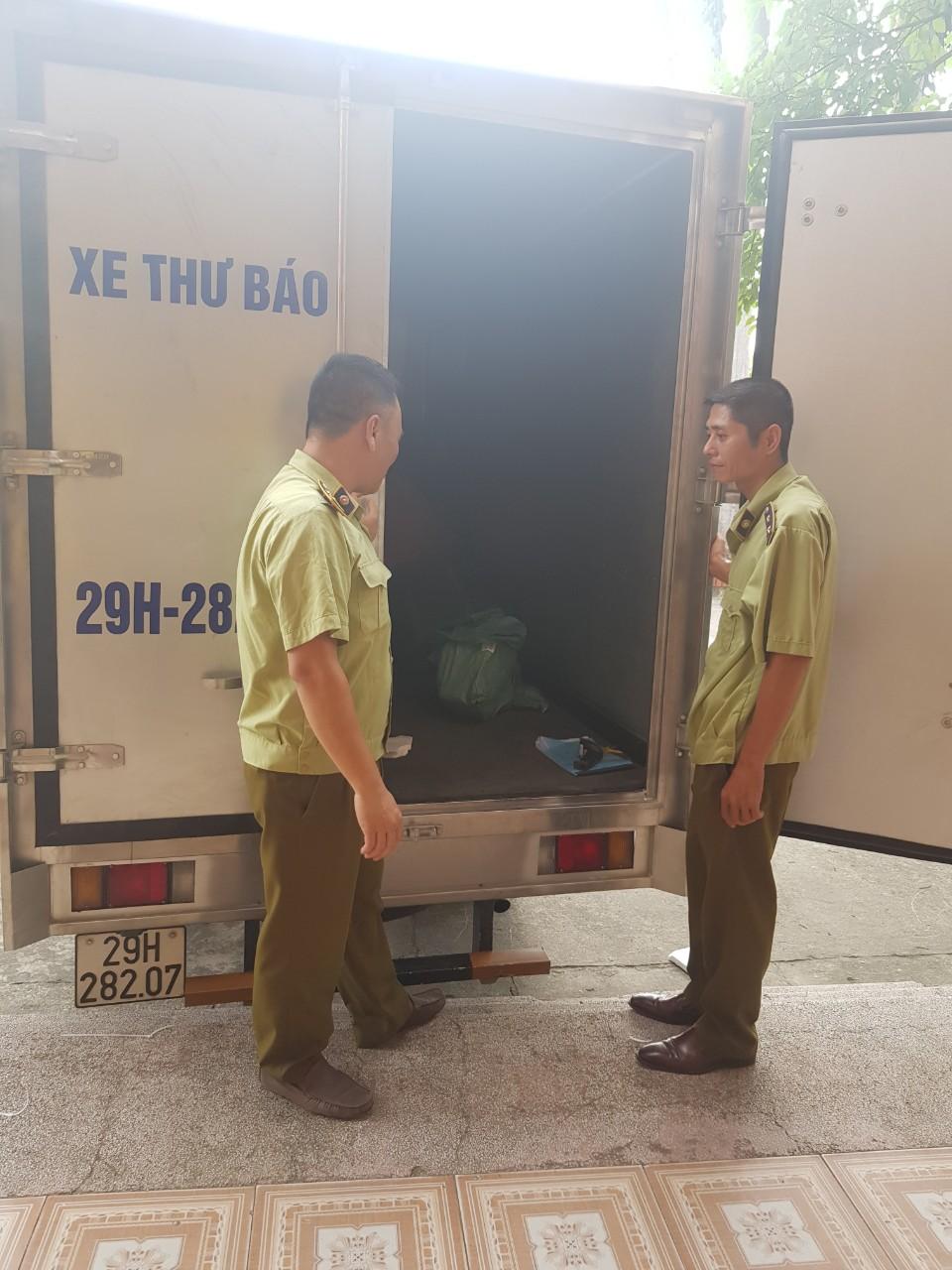 Cục QLTT Thái Bình: Thu giữ trên 500 sản phẩm mỹ phẩm, hàng điện tử đã qua sử dụng không có hóa đơn, chứng từ chứng minh nguồn gốc xuất xứ hàng hóa.