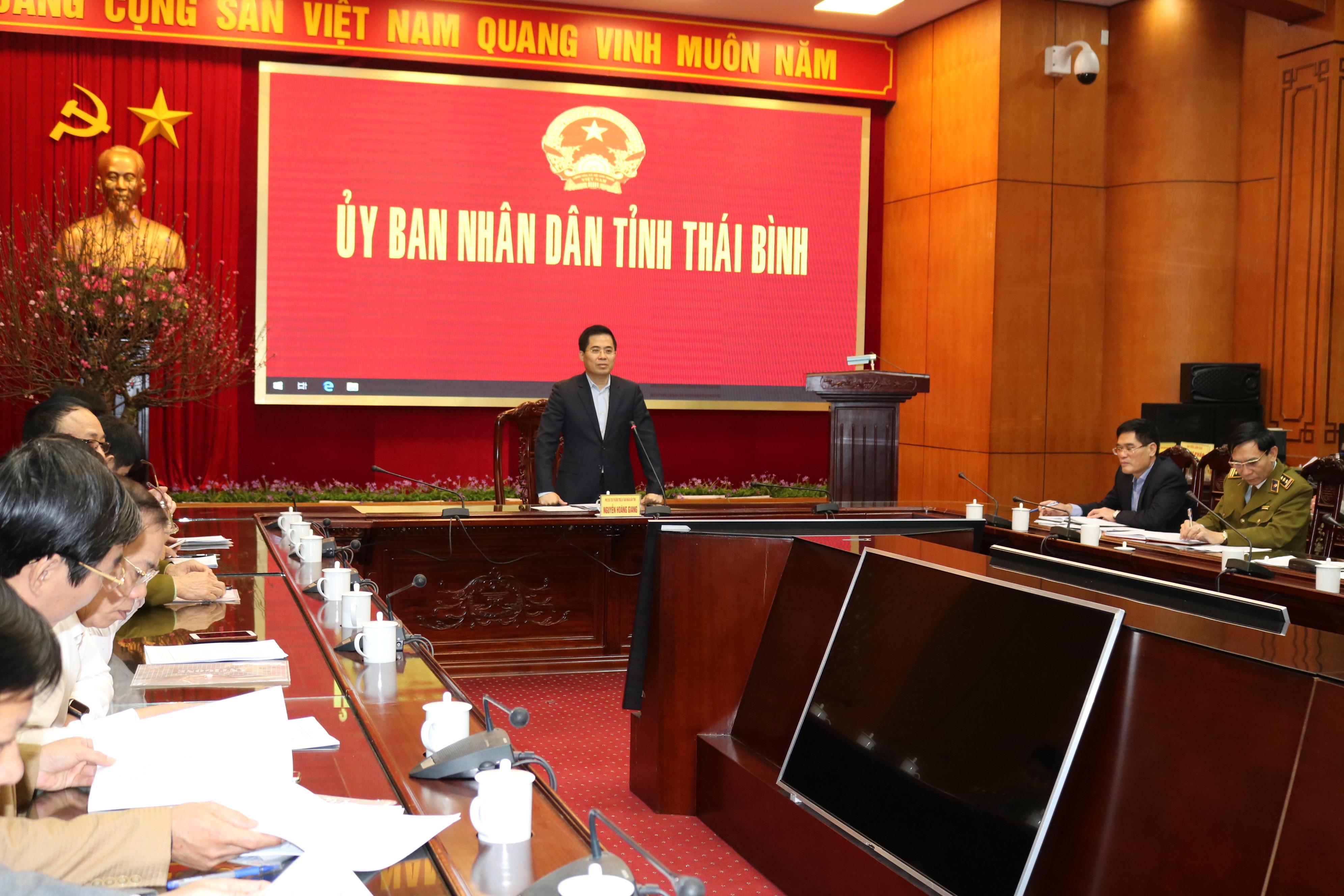 Ban Chỉ đạo 389 tỉnh Thái Bình tổng kết công tác năm 2019, triển khai nhiệm vụ năm 2020