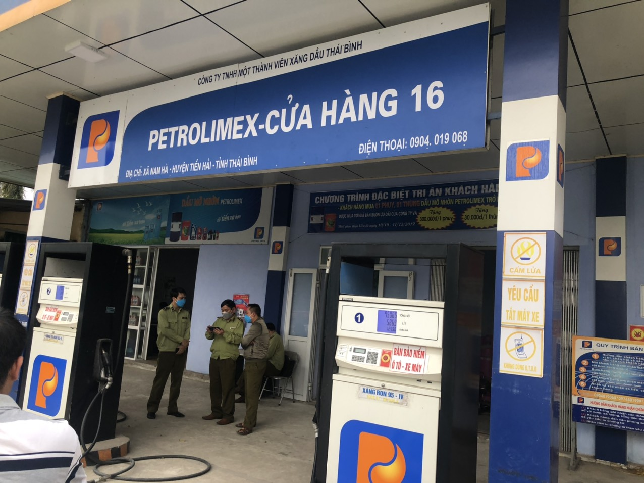 Cục Quản lý thị trường Thái Bình tăng cường công tác kiểm tra, giám sát hoạt động kinh doanh xăng dầu