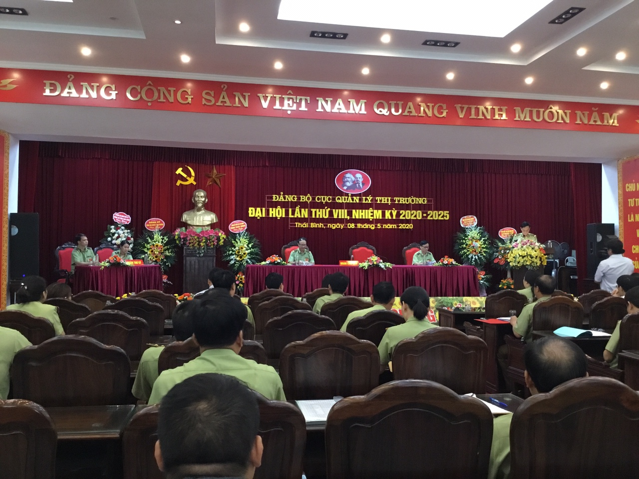 Đảng bộ Cục QLTT Thái Bình tổ chức thành công Đại hội lần thứ VIII, nhiệm kỳ 2020-2025