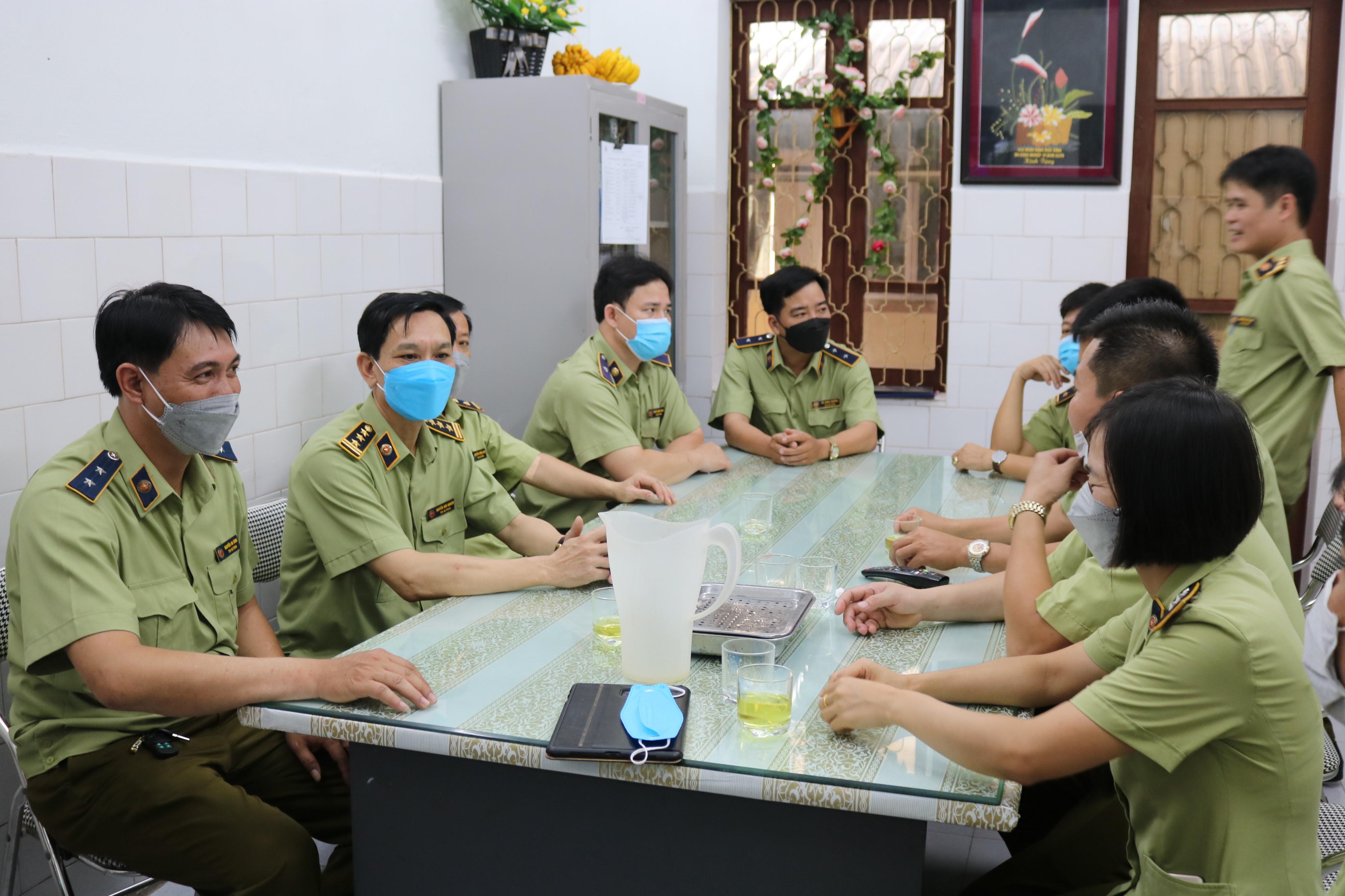Cục QLTT Thái Bình tổ chức hiến máu tình nguyện