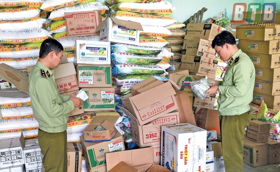 Cục QLTT Thái Bình: Quyết định ban hành Kế hoạch kiểm tra chuyên đề Vật tư nông nghiệp năm 2019