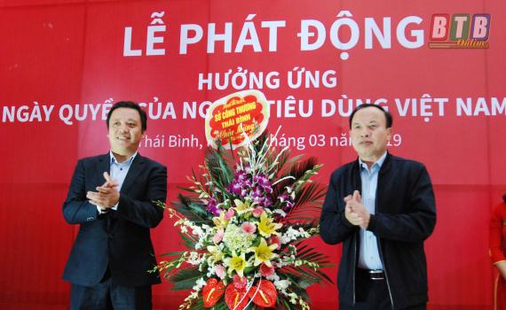 Cục QLTT Thái Bình: Phối hợp, tổ chức Lễ hưởng ứng Ngày Quyền người tiêu dùng Việt Nam 15/3/2019.